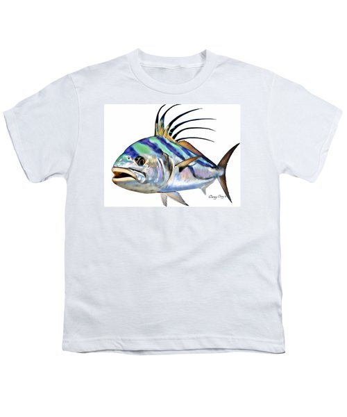Roosterfish Digital Youth T-Shirt by Carey Chen