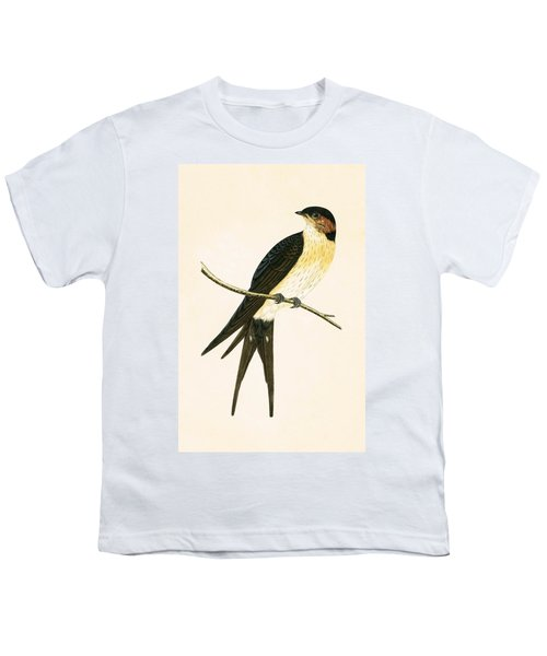 Rufous Swallow Youth T-Shirt by English School
