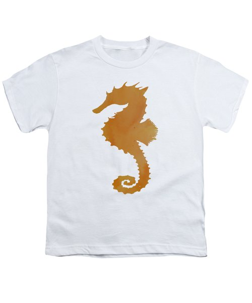 Seahorse Youth T-Shirt by Mordax Furittus