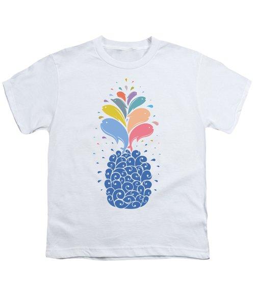 Seapple Youth T-Shirt by Mustafa Akgul