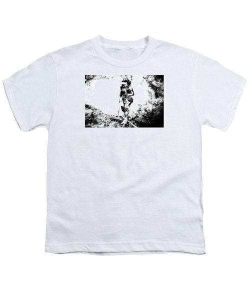 Serena Williams Dont Quit Youth T-Shirt by Brian Reaves