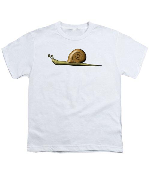 Snail Youth T-Shirt by Michal Boubin