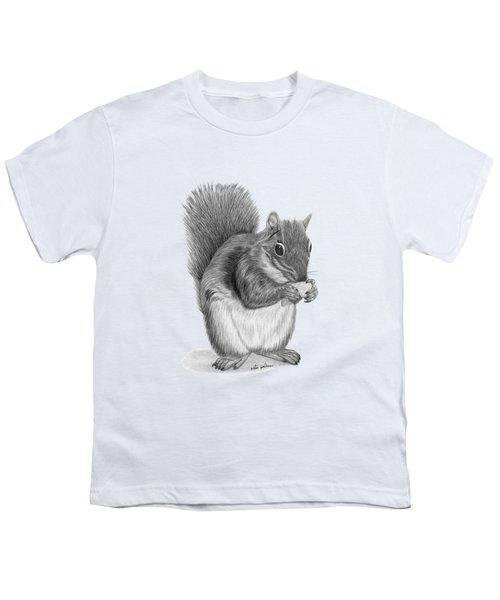 Squirrel #2 Youth T-Shirt by Rita Palmer