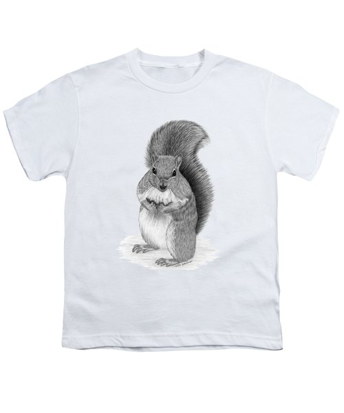 Squirrel Youth T-Shirt by Rita Palmer