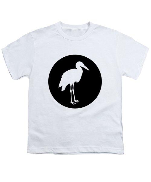 Stork Youth T-Shirt by Mordax Furittus