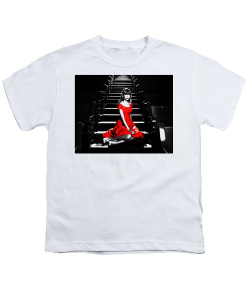 Taylor Swift 8c Youth T-Shirt by Brian Reaves