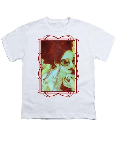 The Bleeding Dream - Self Portrait Youth T-Shirt by Jaeda DeWalt