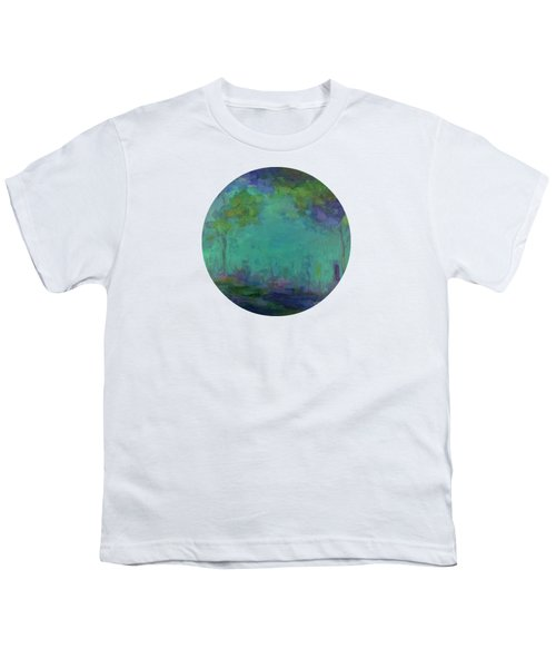 The City In The Distance Youth T-Shirt by Mary Wolf