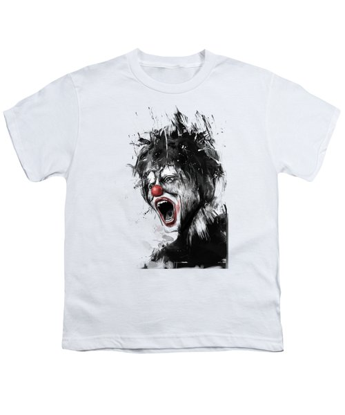 The Clown Youth T-Shirt by Balazs Solti