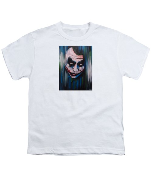 The Joker Youth T-Shirt by Michael Walden