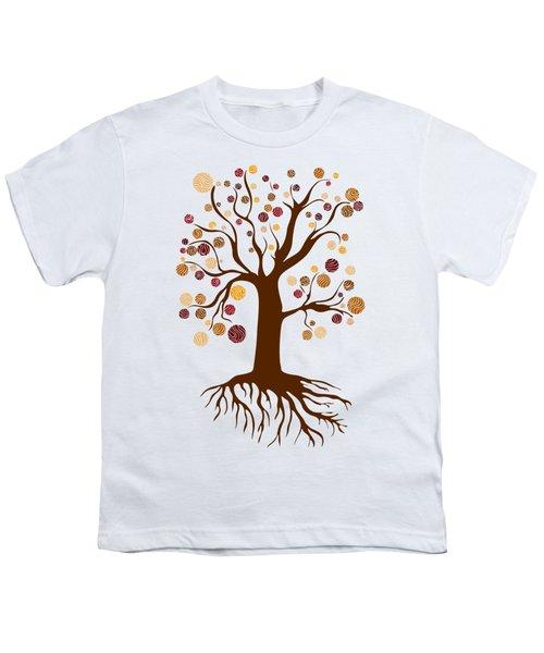 Tree Youth T-Shirt by Frank Tschakert