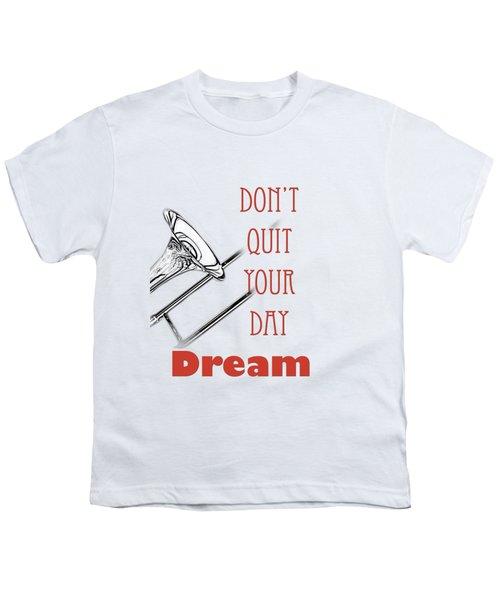 Trombone Fine Art Photographs Art Prints 5017.02 Youth T-Shirt by M K  Miller