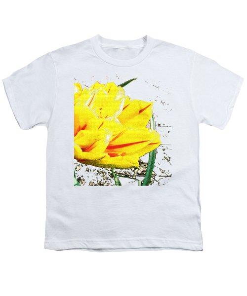 Tulip 3 Youth T-Shirt by Vesna Martinjak