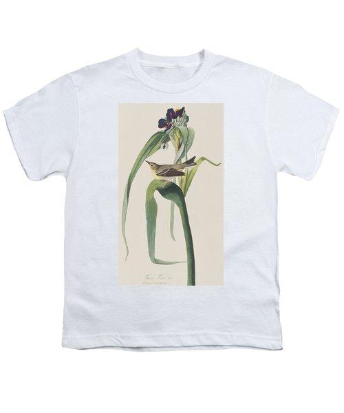 Vigor's Warbler Youth T-Shirt by John James Audubon