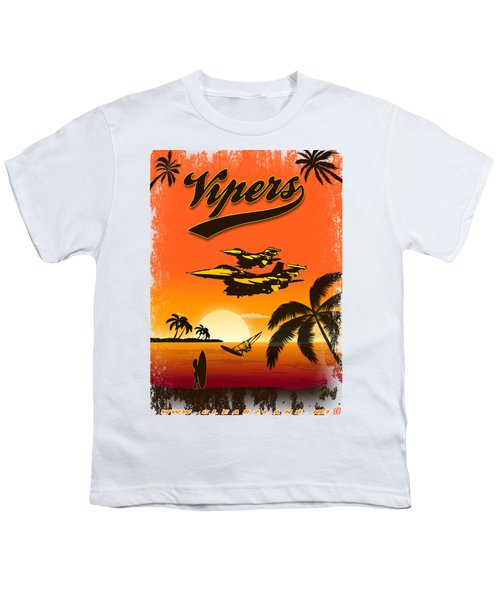 Vipers  F16 Youth T-Shirt by Clear II land Net