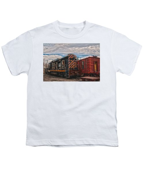 Waiting For Work Youth T-Shirt by Michael Connor