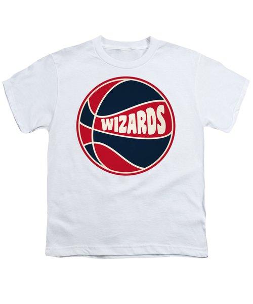 Washington Wizards Retro Shirt Youth T-Shirt by Joe Hamilton