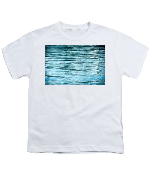 Water Flow Youth T-Shirt by Steve Gadomski