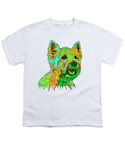 West Highland Terrier Youth T-Shirt by Marlene Watson