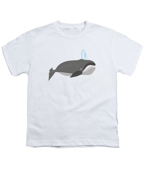 Whale Of A Good Time Youth T-Shirt by Antique Images