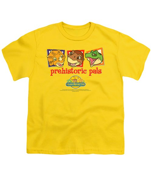 Land Before Time - Prehistoric Pals Youth T-Shirt by Brand A