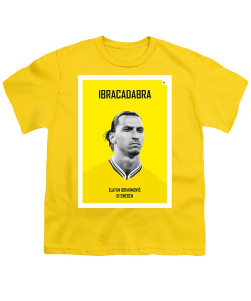 My Zlatan Soccer Legend Poster Youth T-Shirt by Chungkong Art