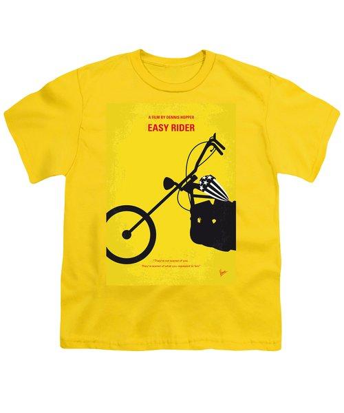 No333 My Easy Rider Minimal Movie Poster Youth T-Shirt by Chungkong Art