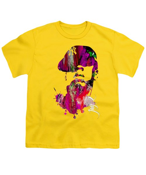 Jay Z Collection Youth T-Shirt by Marvin Blaine