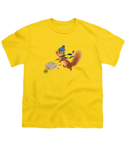 Acorn Industrialist Youth T-Shirt by Little Bunny Sunshine
