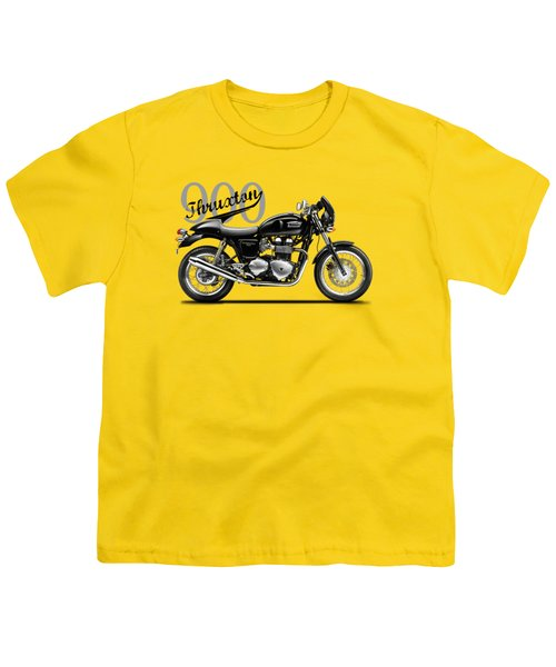 Triumph Thruxton Youth T-Shirt by Mark Rogan