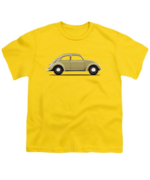Vw Beetle 1946 Youth T-Shirt by Mark Rogan