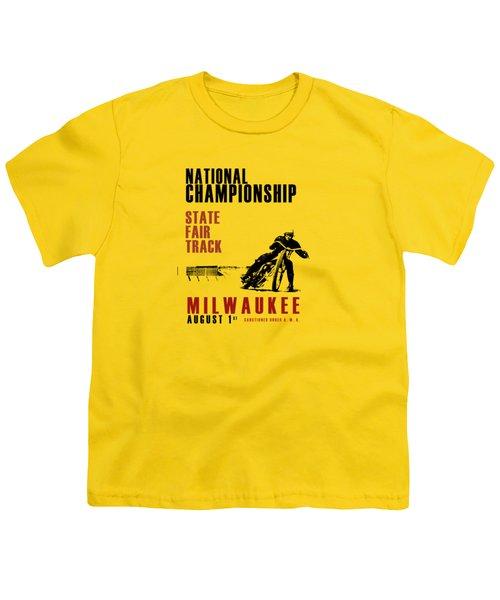 National Championship Milwaukee Youth T-Shirt by Mark Rogan