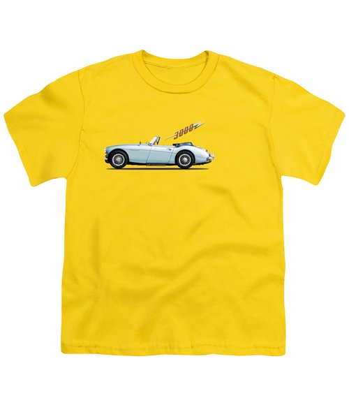 Austin Healey 3000 Mk3 Youth T-Shirt by Mark Rogan