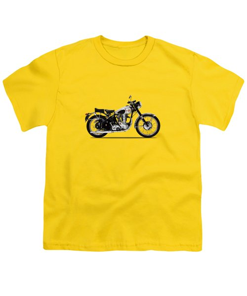 Bsa Gold Star 52 Youth T-Shirt by Mark Rogan