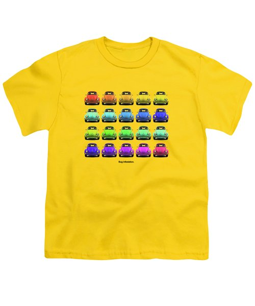 Bug Infestation. Youth T-Shirt by Mark Rogan