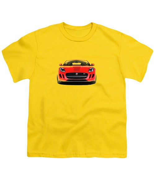 Jaguar F Type Youth T-Shirt by Mark Rogan