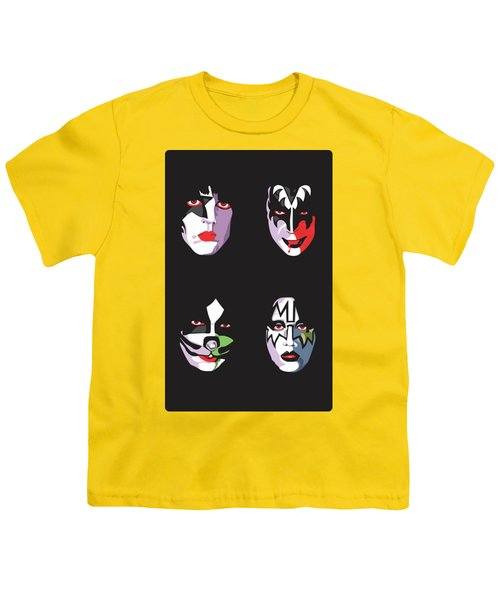 Kiss Youth T-Shirt by Troy Arthur Graphics