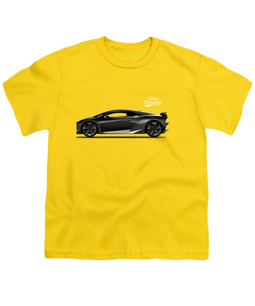 Lamborghini Sesto Elemento Youth T-Shirt by Mark Rogan