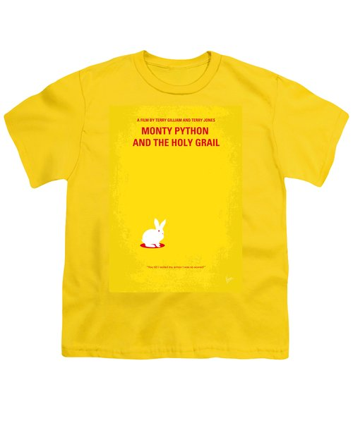 No036 My Monty Python And The Holy Grail Minimal Movie Poster Youth T-Shirt by Chungkong Art