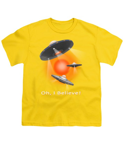 Oh I Believe  Se Youth T-Shirt by Mike McGlothlen