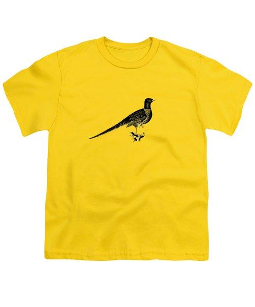 Pheasant Youth T-Shirt by Mark Rogan