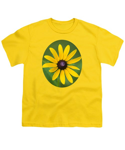 Rudbeckia Flower Youth T-Shirt by Christina Rollo