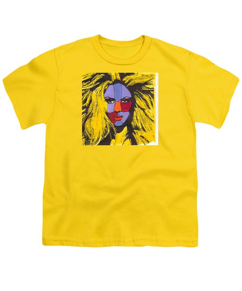 Shakira Youth T-Shirt by Zheni Mavromati