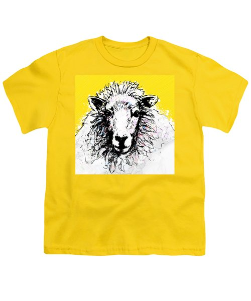 Sheep Youth T-Shirt by Tiffany Hunter
