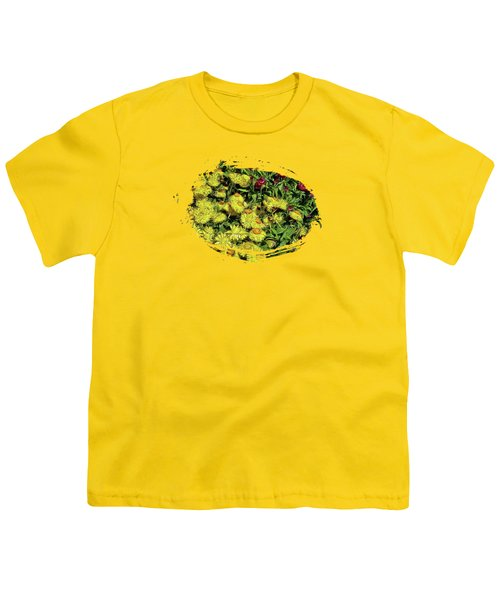 Smiling Daisies Youth T-Shirt by Thom Zehrfeld