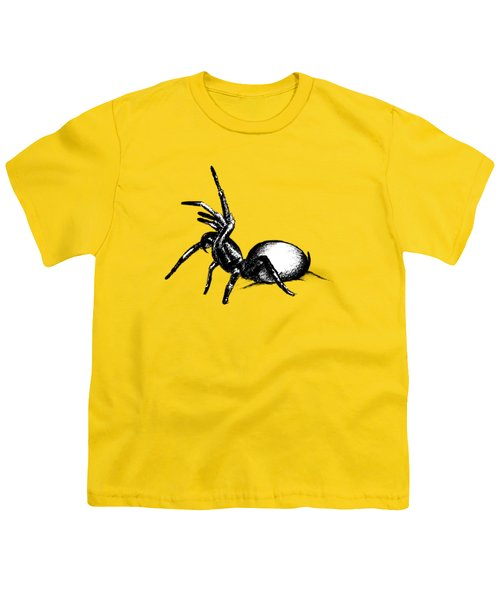 Sydney Funnel Web Youth T-Shirt by Nicholas Ely