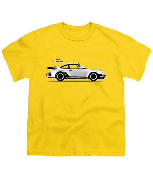 The 911 Turbo 1984 Youth T-Shirt by Mark Rogan