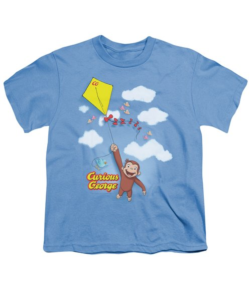 Curious George - Flight Youth T-Shirt by Brand A