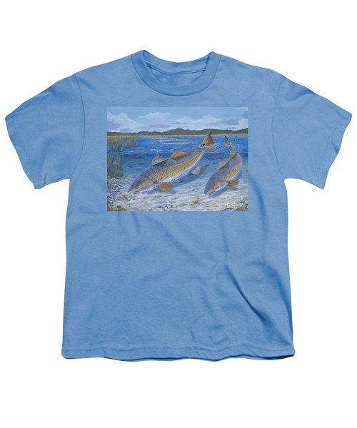 Red Creek In0010 Youth T-Shirt by Carey Chen