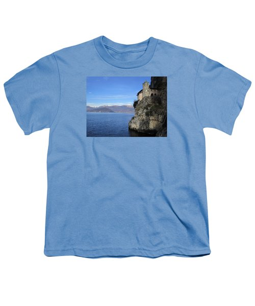 Youth T-Shirt featuring the photograph Santa Caterina - Lago Maggiore by Travel Pics